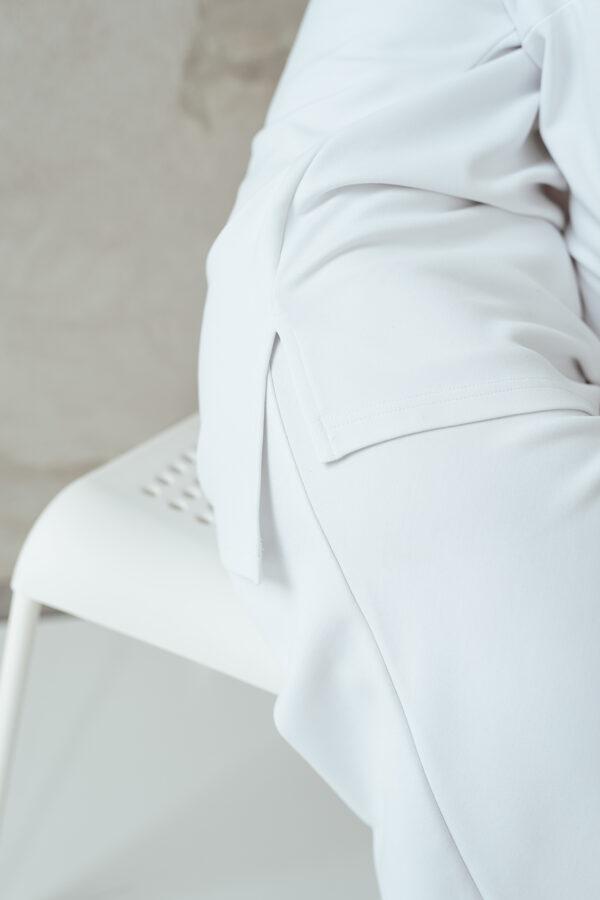 Sieviešu tops ar muguras izgriezumu, BALTS
