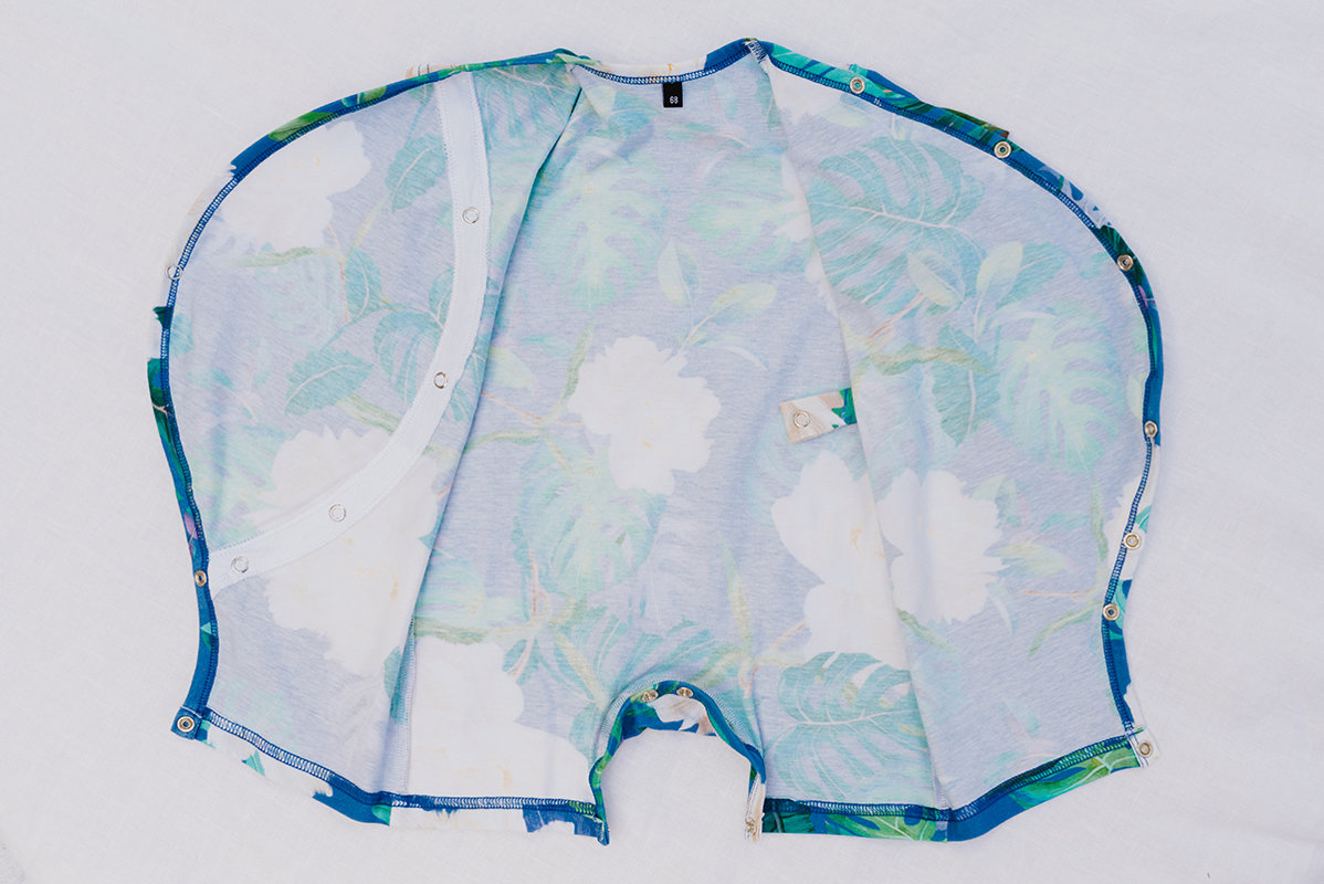 PEONIJU kimono romperi mazuļiem