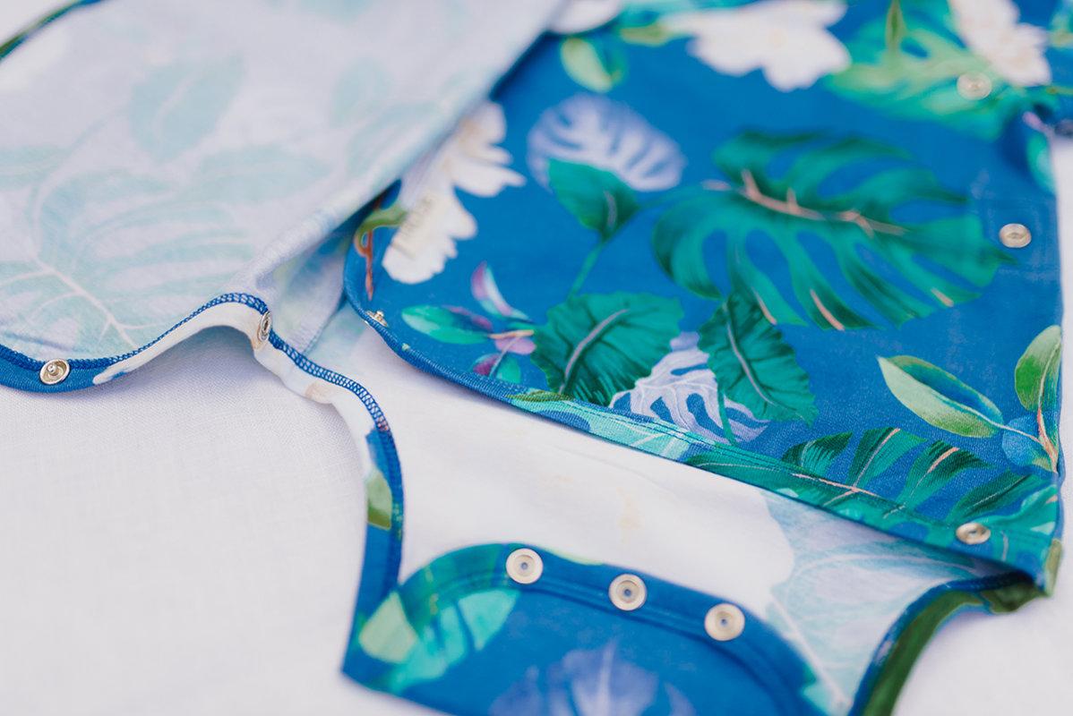 56cm, PEONIJU kimono bodiji mazuļiem