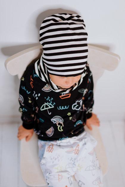 RUDENS cepure, MELNBALTA