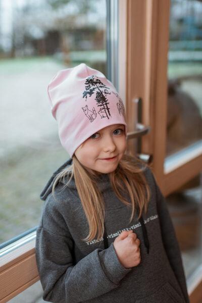 Cepure bērniem ar zvēru apdruku, ROZĀ
